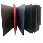 Red/Black paper